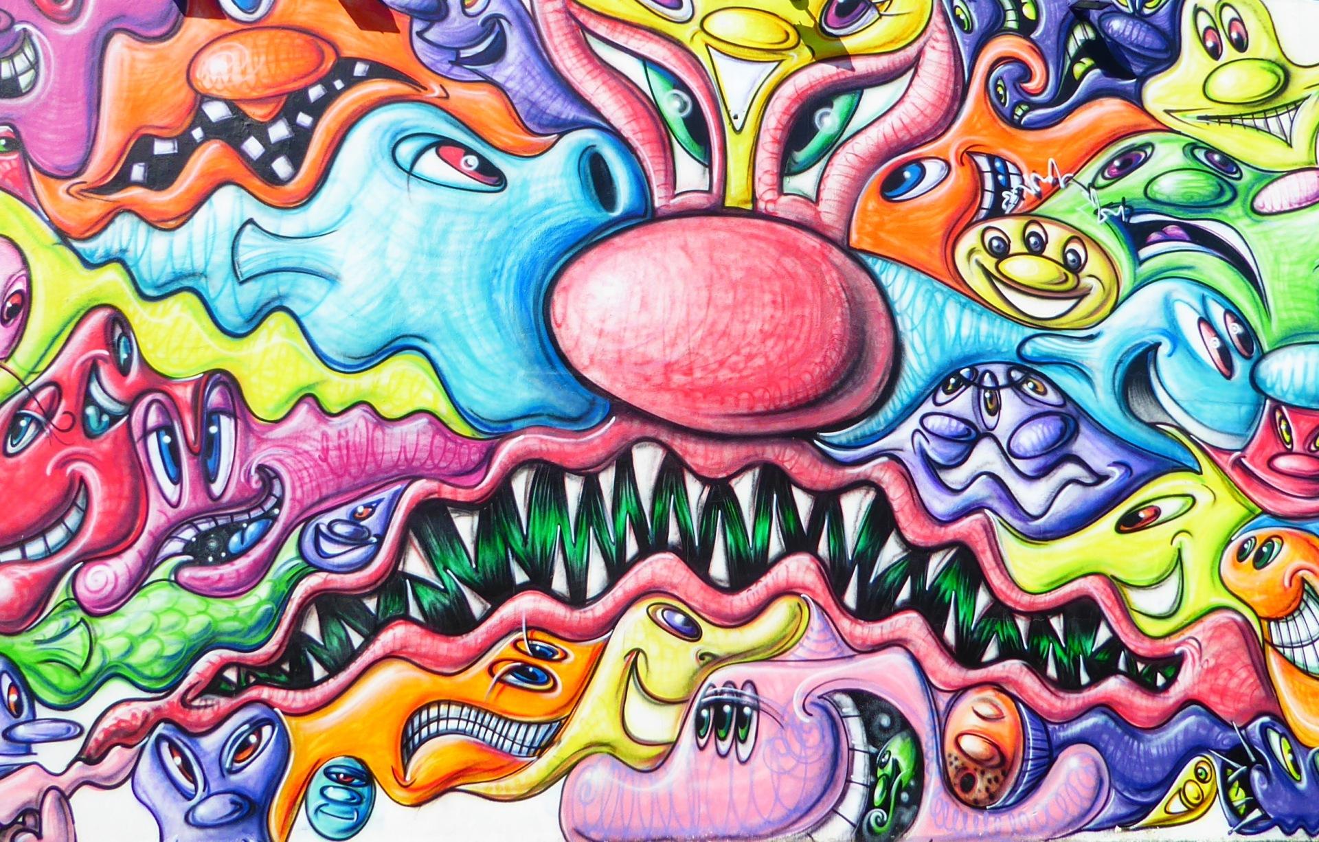 wynwood walls miami florida street art colourful