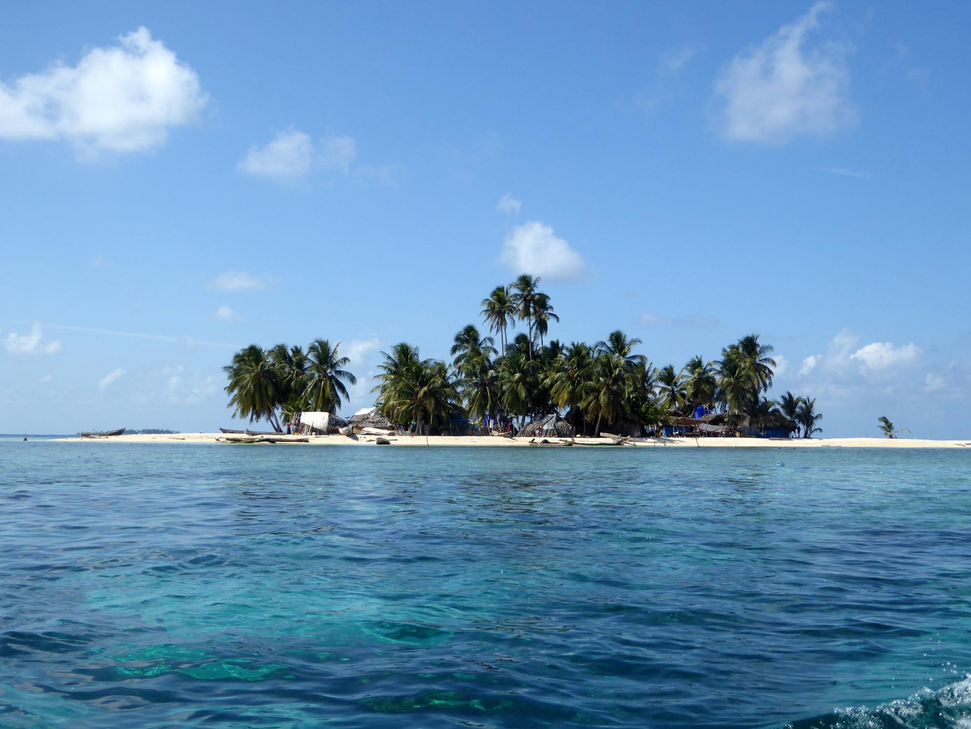 SAN BLAS ISLANDS island coco blanco panama beaches tropical paradise